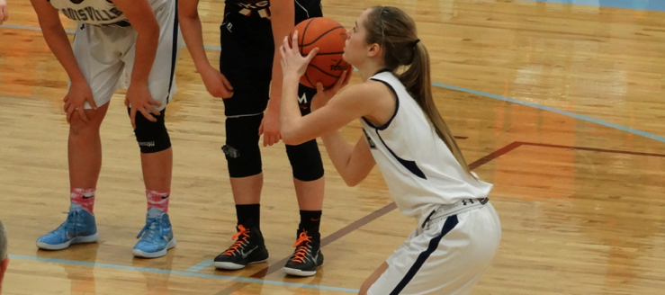 Alexa Oberster Louisville Lady Leopards Basketball Vs. Marlington 2015