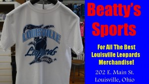 Beatty's Sports Louisville Leopards Baseball Shirt 2015