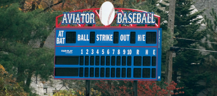 Craven Field Scoreboard Alliance Aviators Baseball