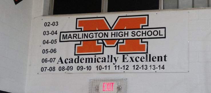 Marlington High School Dukes Academic Excellence Banner
