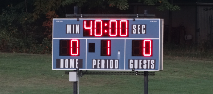 Alliance Aviators Soccer Scoreboard 2014