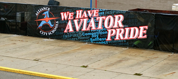 We Have Aviator Pride Banner Alliance Aviators