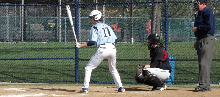 Adam Nyland Louisville Leopards Vs. Salem Quakers Baseball 2015
