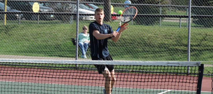 Jake Pukys Louisville Leopards Boys Tennis 2015 Vs. Central