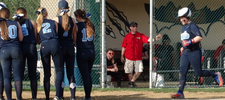 Katie Cozy Walk-Off Homer Louisville Leopards Vs. Salem Quakers Softball 2015