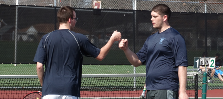 Kyle Robinson & Alex Hall Louisville Leopards Boys Tennis