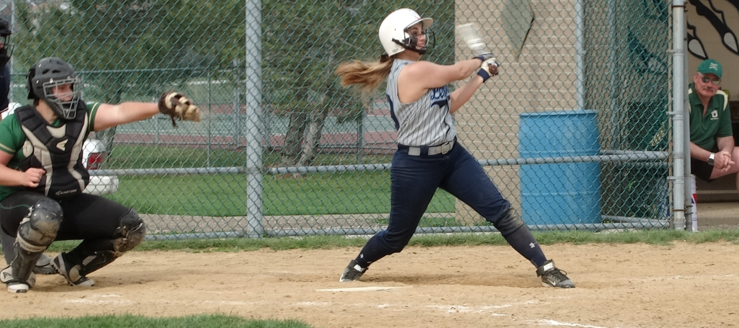 Kylie Zifer Louisville Lady Leopards Softball Vs. GlenOak Golden Eagles 2015