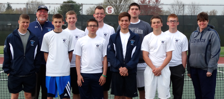 Louisville Leopards Boys Tennis Outright NBC Champions 2015
