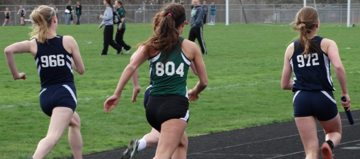 Louisville Leopards Girls Track Vs. West Branch Warriors 2015