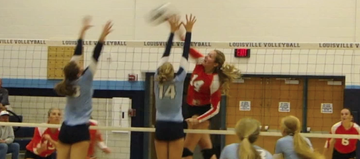 Marlee Peck Volleyball Highlights 2014 Marlington Dukes