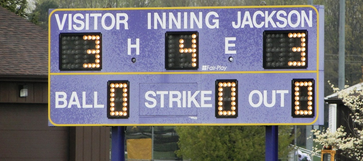 Jackson Polar Bears Softball Scoreboard