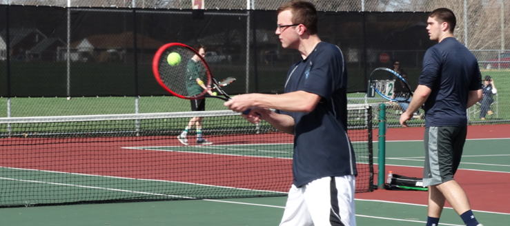 Kyle Robinson Louisville Leopards Boys Tennis 2015 Vs. Central