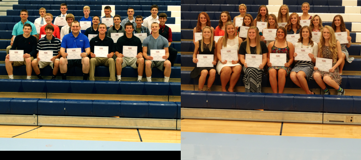 Louisville Leopards Spring Sports Scholar Athletes 2015