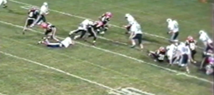 Louisville Leopards at North Canton Hoover Vikings 1994 Football Highlights