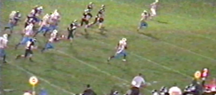 Marc Zustin Louisville Leopards 2002 Football Highlights Vs. Carrollton Warriors