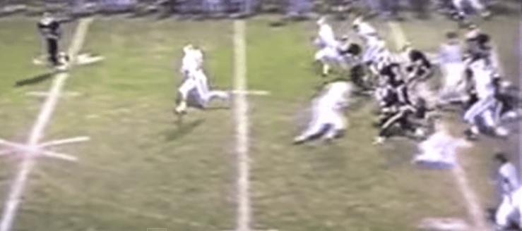 Dan Wilson Louisville Leopards Vs. Springfield Spartans 1994 Football Highlights