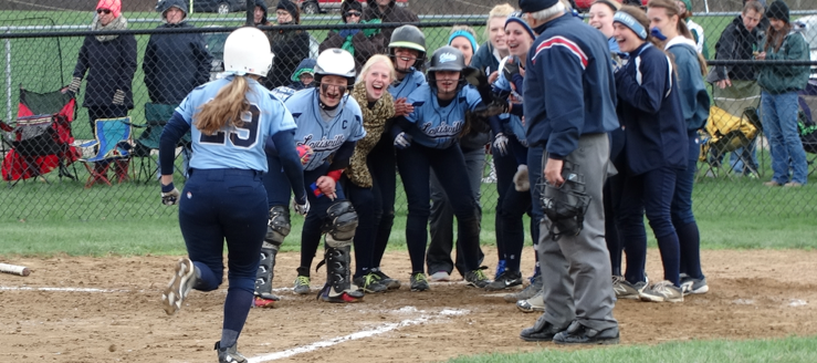 Kylie Zifer 3-Run Game-Tying Homer at West Branch