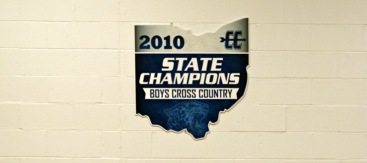Louisville Leopards Boys Cross Country 2010 State Champions Banner