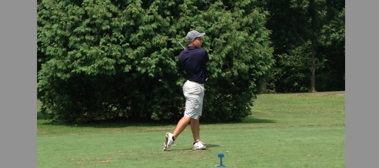 Matt Eddins Louisville Leopards Boys Golf Vs. Salem Quakers 2015