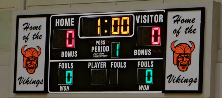 North Canton Hoover Vikings Volleyball Scoreboard