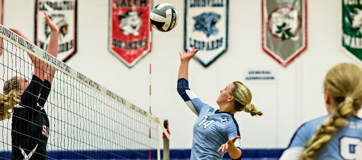 Brynn Guist Louisville Leopards Vs. Salem Quakers Volleyball 2015