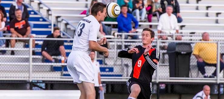 Derek Zeller Louisville Leopards Vs. Marlington Dukes Boys Soccer 2015