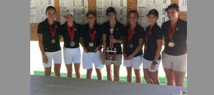 Louisville Lady Leopards Girls Golf 2015 NBC Champions
