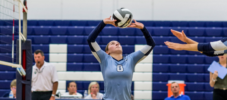 Paige Haren Louisville Leopards Volleyball 2015 Vs. Salem Quakers