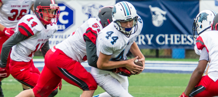 Ethan Bellew Louisville Leopards JV Football 2015
