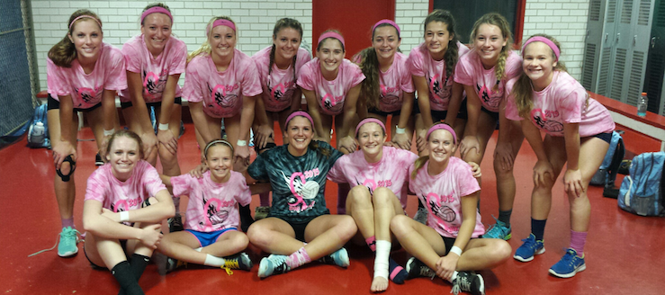 Louisville Lady Leopards Varsity Volleyball Volley For the Cure 2015