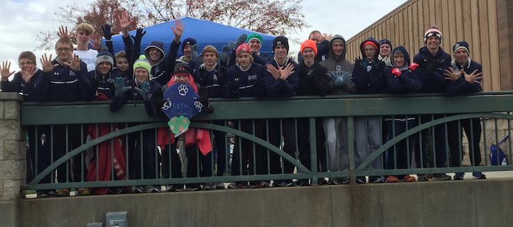 Louisville Leopards Boys Cross Country 2015 NBC Champions 10 Straight