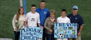 Boys Soccer Subdues Salem on Senior Night