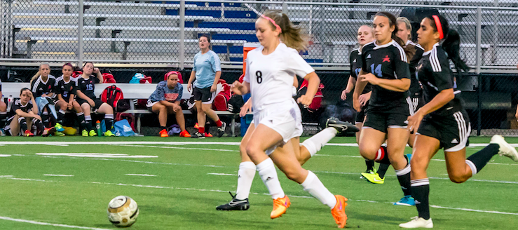 Megan Chatelain 2015 Girls Soccer Highlights Video Louisville Leopards