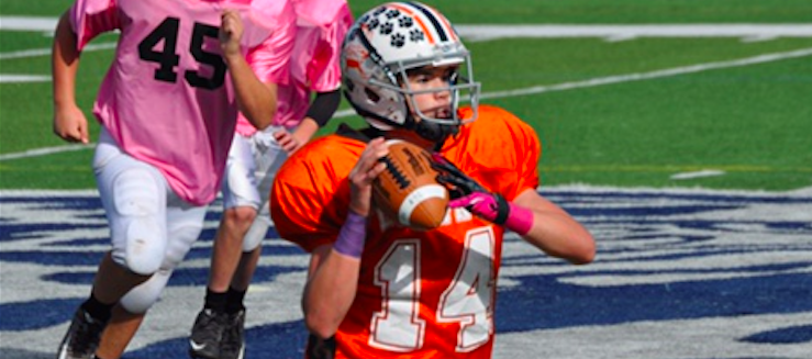 Browns Quarterback Little Leopards Football