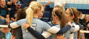 Volley Suffers 1st NBC Defeat Against Marlington
