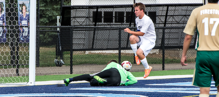 Trevor Burk Louisville Leopards Boys Soccer 2015 Vs. Firestone