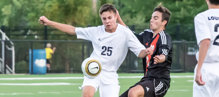 Logan Riley Louisville Leopards Boys Soccer Vs. Marlington Dukes 2015