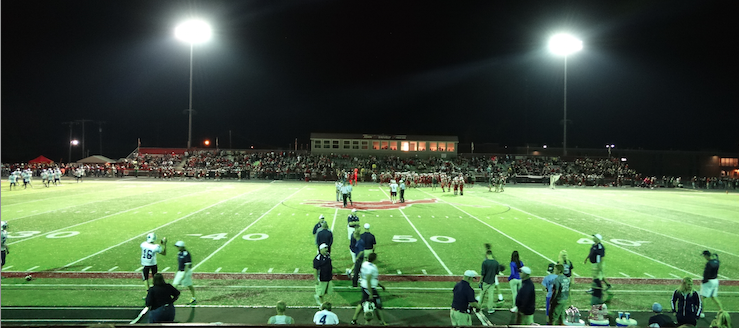 Dr. Robert H. Hines Stadium Home of the Minerva Lions