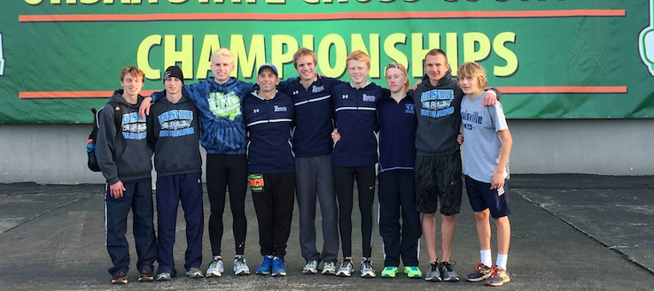 Louisville Leopards Boys Cross Country DI State Meet 2015