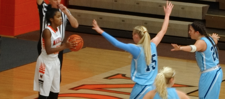 Louisville Leopards Vs. Massillon Tigers Girls Basketball 2015 Sabryna Benzel Grace Jackson