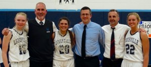 Girls Basketball Rallies for Senior Night Win Vs. Central