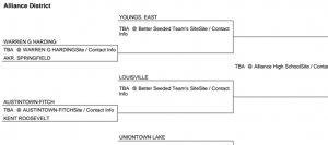Boys Basketball To Host Fitch/Roosevelt Winner in Section on Feb. 27