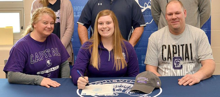 Emily Cantley Signs with Capital University