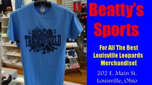 Beatty's Louisville Leopards Track & Field T-Shirt 2016