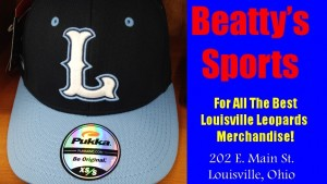 Beatty's Sports Hat Louisville Leopards L Letter