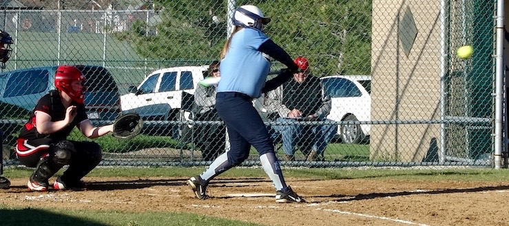 Emily Cantley Louisville Leopards Softball 2016 Vs. Salem Quakers