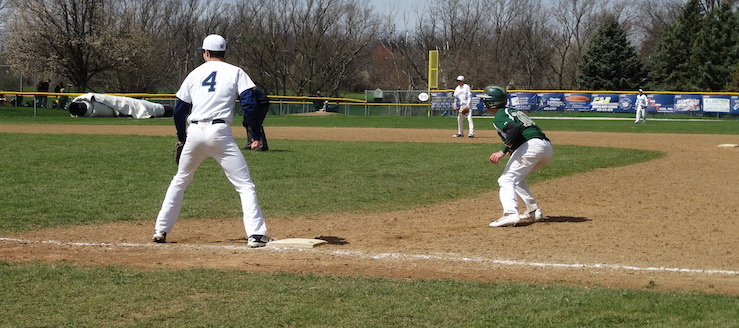 Jack Davis & Dylan Wayt Louisville Leopards Vs. GlenOak Golden Eagles JV Baseball 2016