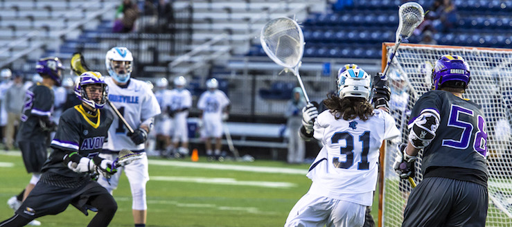 Jared Holland Louisville Leopards Lacrosse Assist Record Vs. Avon Eagles 2016