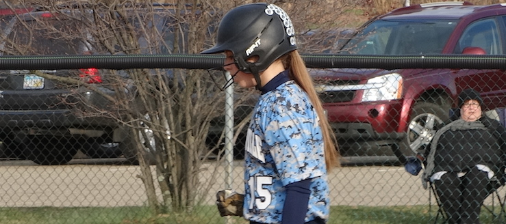 Lexi Zavarelle Louisville Leopards Softball 2016