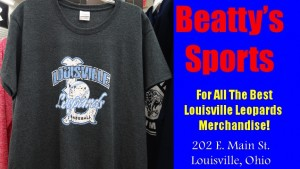 Louisville Leopards Baseball 2016 Shirt Beatty's Sports